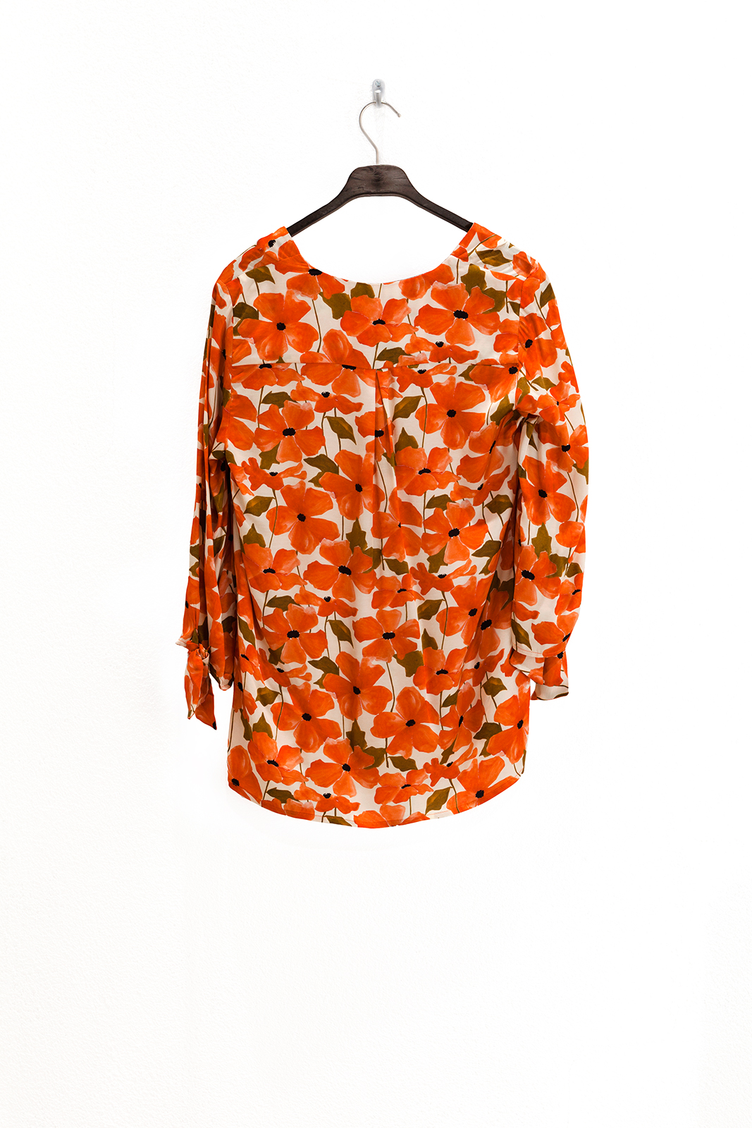 Wax blouse aquarelprint