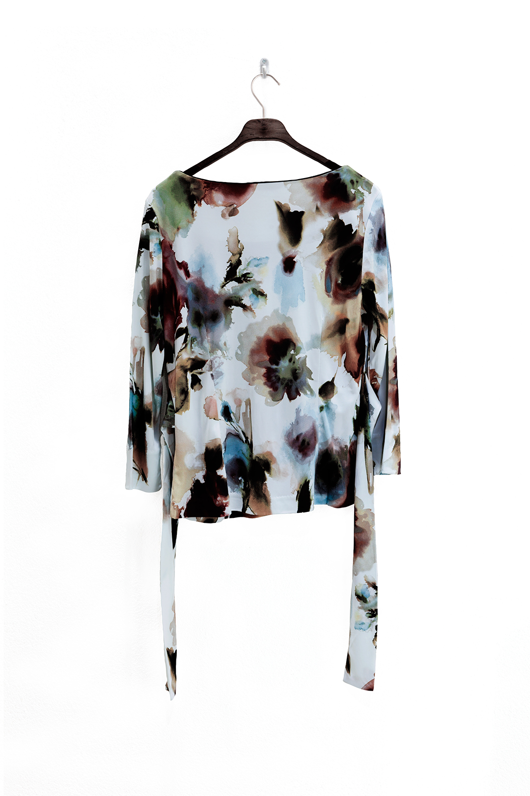 Wax blouse spatprint